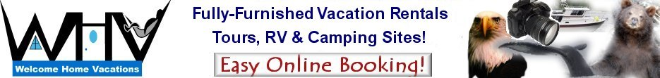 Welcome Home Vacations, Alaska Online Reservation Site
